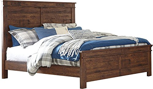 Ashley Furniture Signature Design - Hammerstead Queen Panel Footboard - Brown