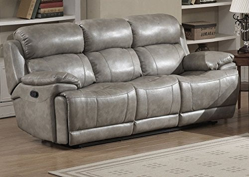 Christies Home Living Estella Reclining Sofa, Gray