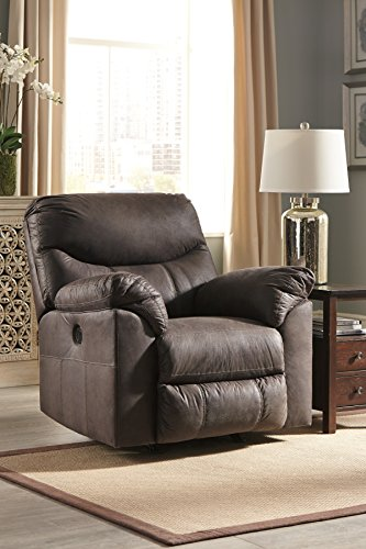 Signature Design by Ashley 3380398 Boxberg Power Recliner, Teak