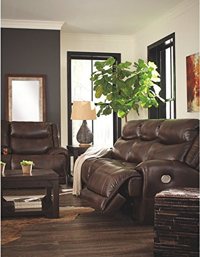 Madhu's COLLECTION Décor Sofa Recliner by Mg Decor, Large, Brown