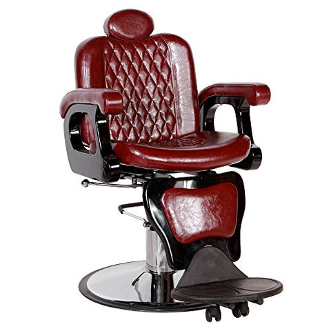 """PERSIA"" Contemporary Hydraulic Reclining Barber Equipment Chair BC-21BU"