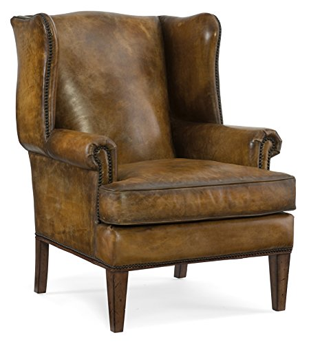 Harris & Terry AMZ2253121 Jeffrey Arm Chairs, Brown