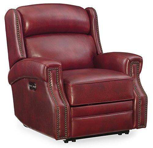 Harris & Terry AMZ1930726 Tory Recliner with Power Headrest, Red