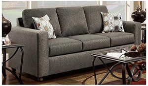 Chelsea Home Furniture Talbot Sofa, Vivid Onyx