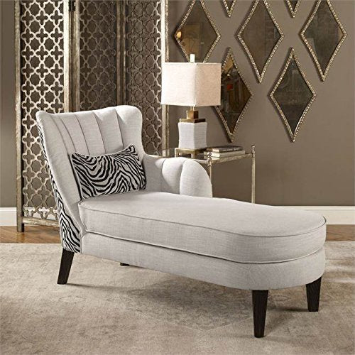 Uttermost 23162 Zea Chaise Lounge