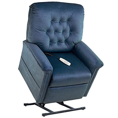 "NM-122PW Mega Motion Lift Chair (Ocean) Suggested Height. 5' to 5' 4"" Rated for 375.00. Free Curbside Delivery."