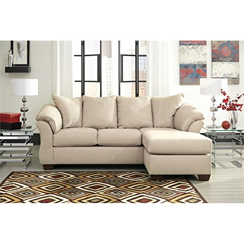 BOWERY HILL Sofa Chaise in Stone