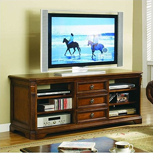 "Beaumont Lane 64"""" Entertainment Console in Clear Cherry"