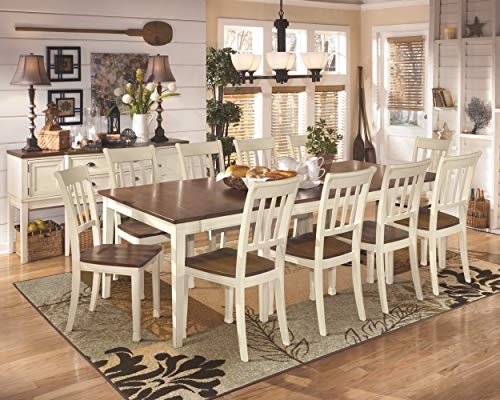 Signature Design by Ashley - Whitesburg Dining Chairs - Set of 2 - Beige/Brown
