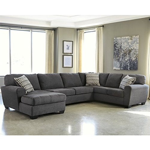Pemberly Row 3 Piece Right Facing Sectional in Slate