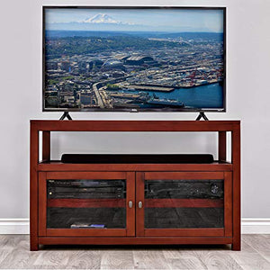 Epoch Design Pacifica Maestro Beech Entertainment Console with Fan