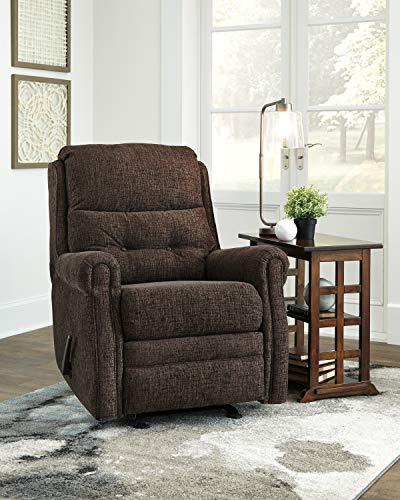 Signature Design by Ashley 5710427 Penzberg Recliner, Sable