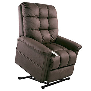 "NM-5001 Mega Motion (Windermere) Power Lift Recliner Chair.(Mink) Weight Capacity: 375 lb. Suggested User Height: 5'8""- 6'. Free Curbside Delivery."