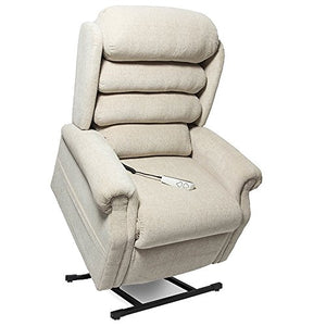 "NM-1950LT Mega Motion Power Lift Recliner Chair. (Doe) Suggested User Height: 5'10"" to 6'6"". Weight Capacity 375 Lbs. Free Curbside Delivery"