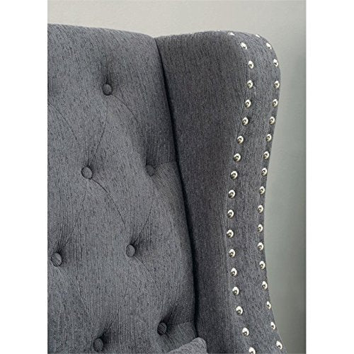 BOWERY HILL Settee in Gray
