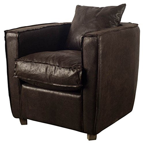 Mercana Modern Chair with Brown Finish 50384