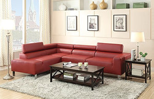 Benzara BM166763 Sofa, Red