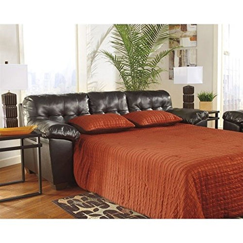 BOWERY HILL Queen Sofa Sleeper in Chocolate