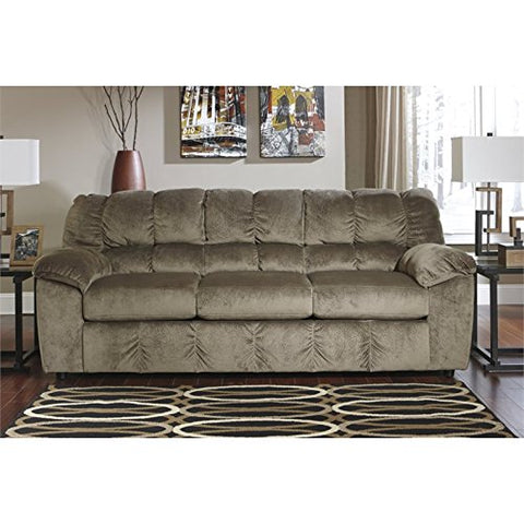 BOWERY HILL Fabric Sofa in Dune