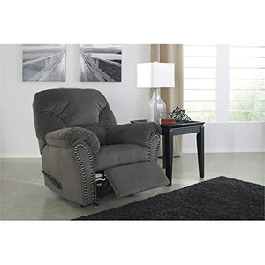 BOWERY HILL Rocker Recliner in Charcoal