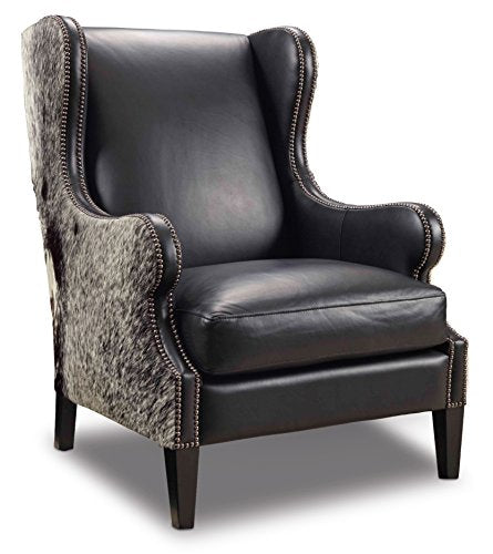 Harris & Terry AMZ3737660 Lorainne Arm Chairs, Black