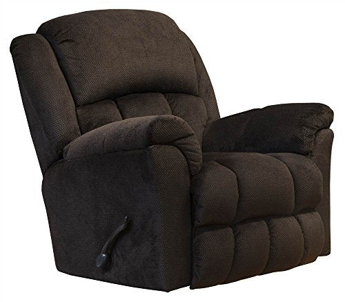 Catnapper Rocker Recliner with Heat and Massage in Chocolate