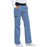 Cherokee Flexibles 1031 Scrubs Pants Women's Mid Rise Knit Waist Pull-On Ciel Blue 3XL
