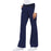 Cherokee Flexibles 1031 Scrubs Pants Women's Mid Rise Knit Waist Pull-On Navy