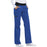 Cherokee Flexibles 1031 Scrubs Pants Women's Mid Rise Knit Waist Pull-On Royal 3XL