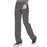 Cherokee Infinity 1123A Scrubs Pants Women's Low Rise Straight Leg Drawstring Pewter