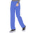 Cherokee Infinity 1123A Scrubs Pants Women's Low Rise Straight Leg Drawstring Royal