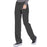 Cherokee Infinity 1123A Scrubs Pants Women's Low Rise Straight Leg Drawstring Black