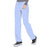 Cherokee Infinity 1123A Scrubs Pants Women's Low Rise Straight Leg Drawstring Ciel Blue