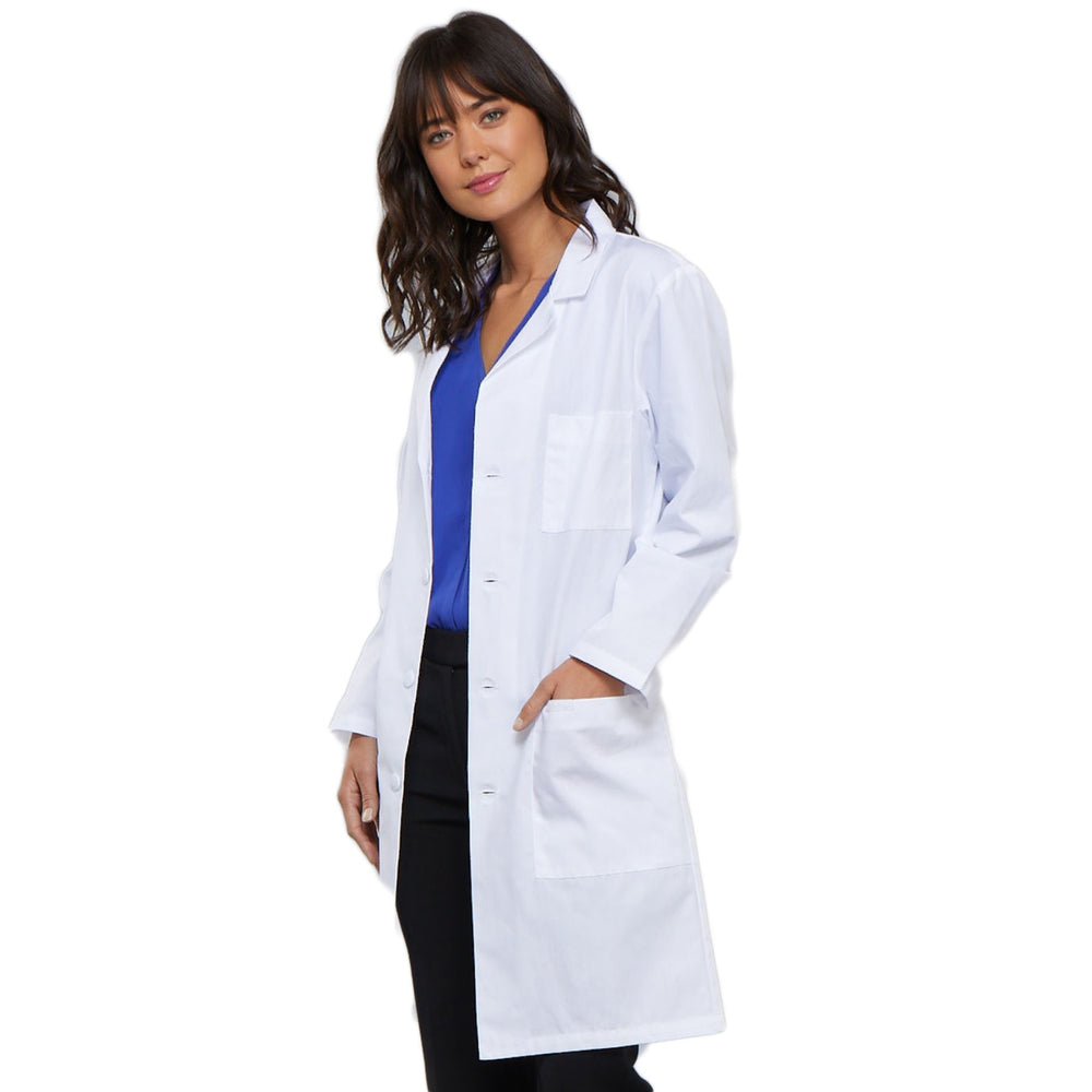 "Cherokee Workwear Professionals 1346 Lab Coat Unisex 40"" White"