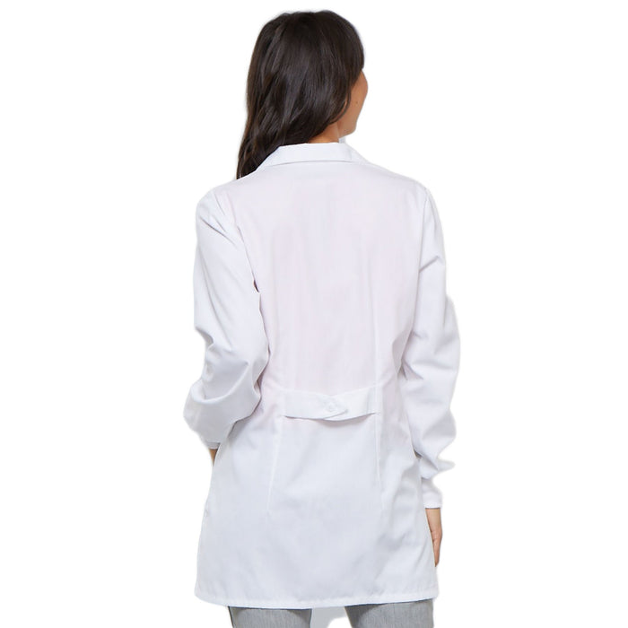 "Cherokee Workwear Professionals 1362 Lab Coat Women's 32"" White 3XL"