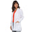 "Cherokee Workwear Professionals 1362 Lab Coat Women's 32"" White"