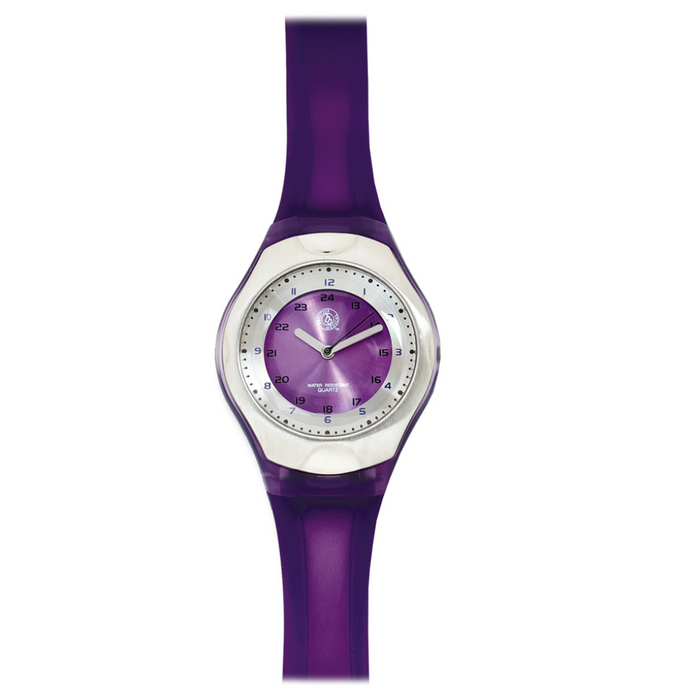 Prestige Cyber Gel Scrub Watch Purple