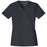 Cherokee Luxe 1845 Scrubs Top Women's V-Neck Pewter