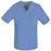 Cherokee Luxe 1929 Scrubs Top Men's V-Neck Ciel Blue
