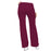 Cherokee Luxe 21100 Scrubs Pants Women's Low Rise Flare Leg Drawstring Cargo Wine 3XL