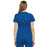 Cherokee Luxe 21701 Scrubs Top Women's Empire Waist Mock Wrap Royal 3XL