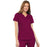Cherokee Luxe 21701 Scrubs Top Women's Empire Waist Mock Wrap Wine