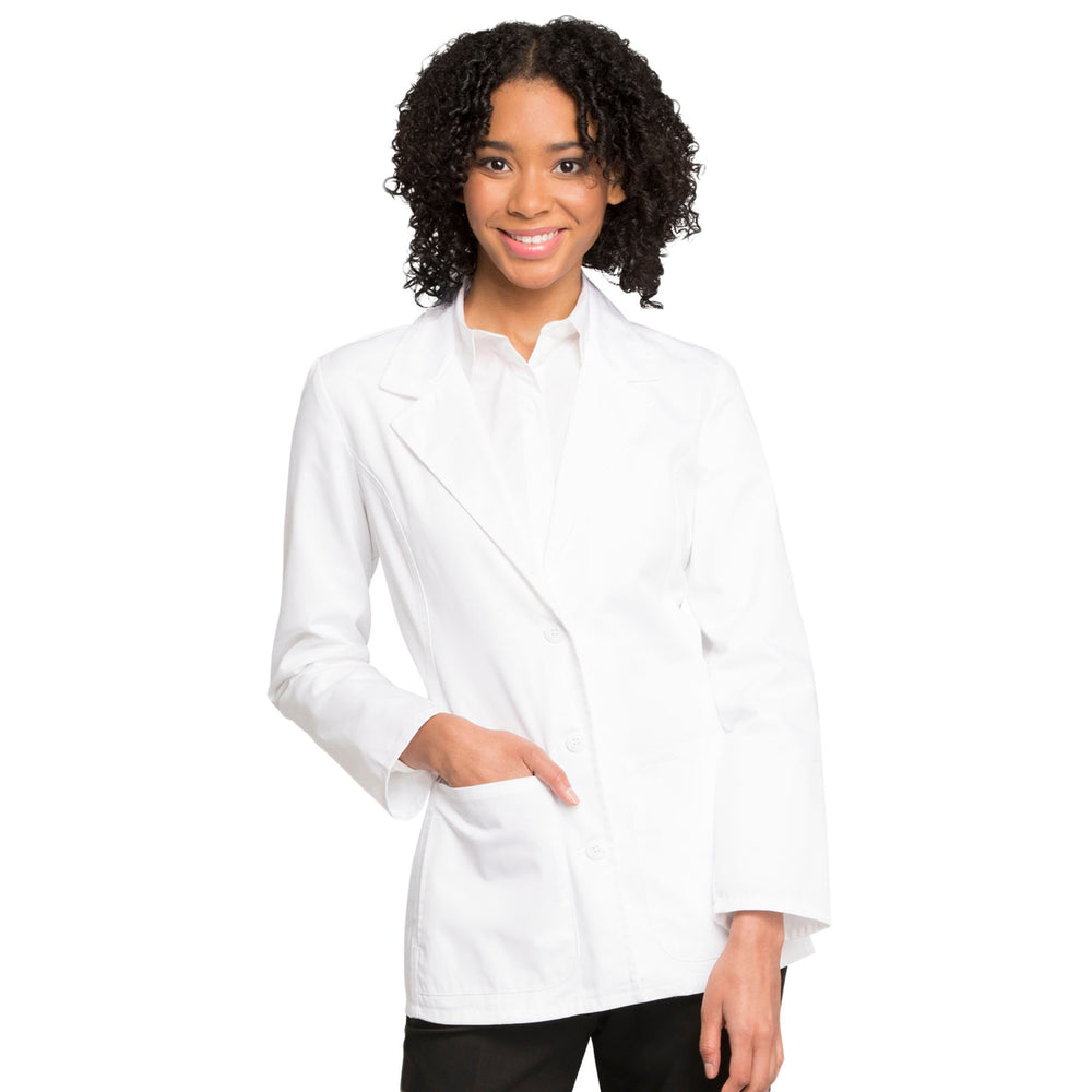 "Cherokee Fashion White Lab Coat 2317 Lab Coat Women's 28"" White"