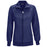 Cherokee Infinity 2391A Scrubs Jacket Women's Zip Front Warm-Up Navy