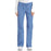 Cherokee Workwear Core Stretch 24001 Scrubs Pants Women's Low Rise Drawstring Cargo Ciel Blue