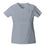 Cherokee Workwear Core Stretch 24703 Scrubs Top Women's V-Neck Grey