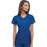 Cherokee Workwear Core Stretch 24703 Scrubs Top Women's V-Neck Royal