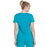 Cherokee Infinity 2625A Scrubs Top Women's Mock Wrap Teal Blue 3XL