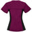 Cherokee Flexibles 2874 Scrubs Top Women's V-Neck Knit Panel Wine