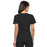 Cherokee Flexibles 2968 Scrubs Top Women's V-Neck Knit Panel Black 3XL